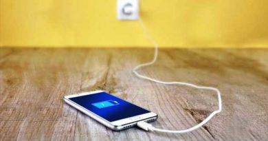 Не заряджайте телефон у спальні