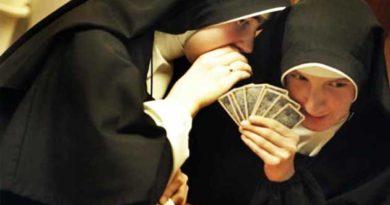 монашки в казино