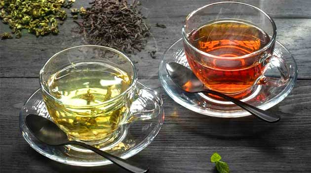 Чорний чи зелений чай