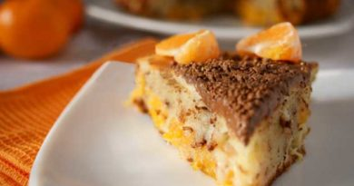 Мандариновий пиріг
