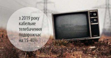 подорожчає кабельне телебачення