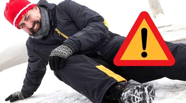 Як не впасти на льоду