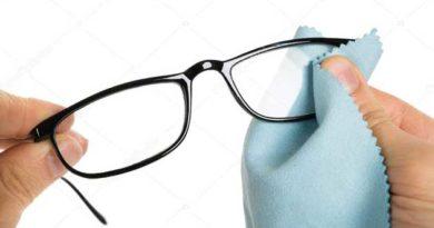 очищення окуляр
