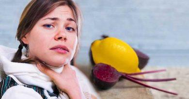Буряк і лимон захистять від ангіни