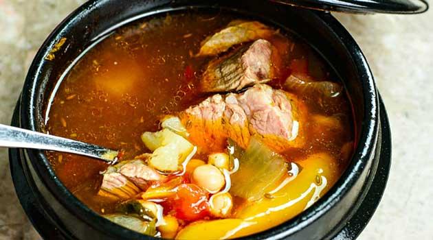 Суп у горщиках