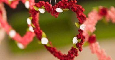 Валентинки в техніці квілінг