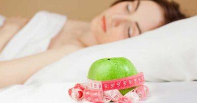 як схуднути уві сні