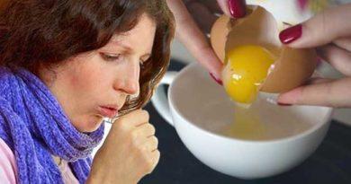 Яйце при застуді