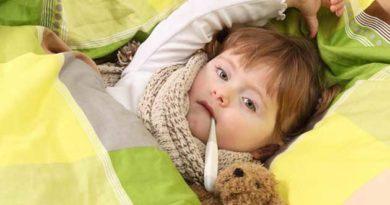 нормальна температура в дітей