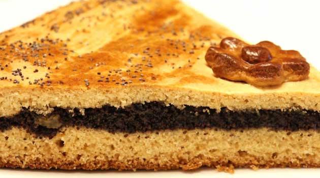 Пиріг пісний із маком