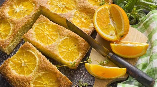 Шарлотка з апельсинами