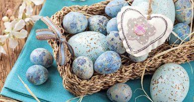 Декор великодніх яєць