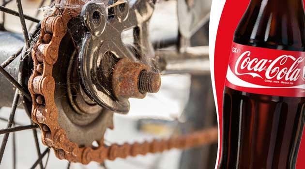 Кока-кола проти іржі