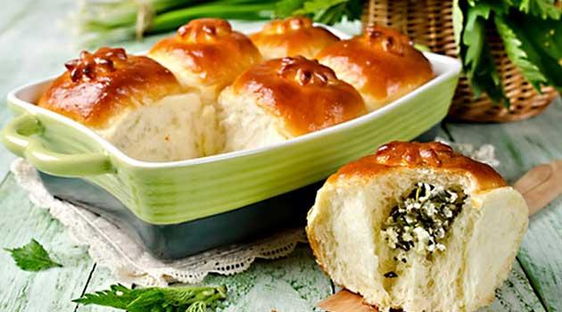 Пиріжки з кропиви