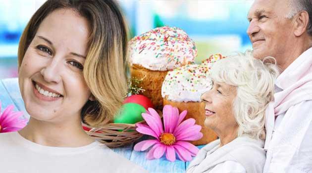 На Великдень старі батьки зійшлися докупи