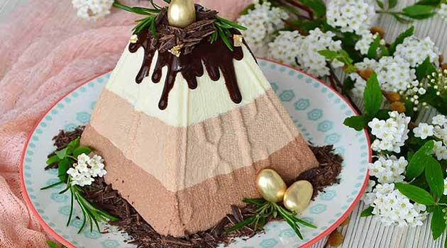 Сирна паска Три шоколади