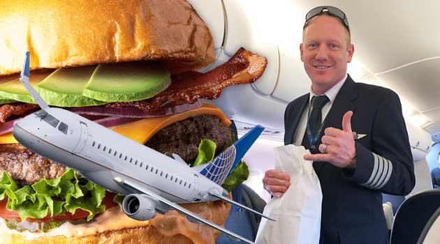 Пілот купив 70 бургерів