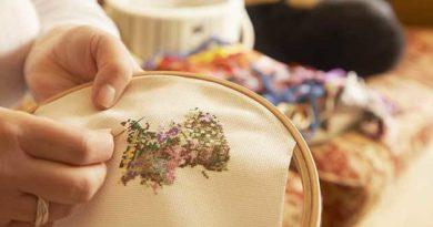 Прикмети вишивання, що вишивати на картинах та рушниках