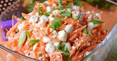 Вітамінний салат із моркви