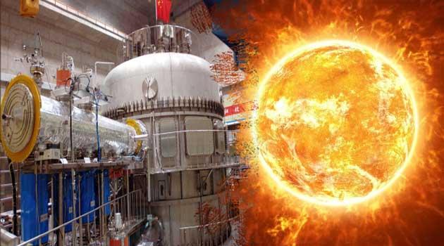 Закінчується будівництво штучного сонця