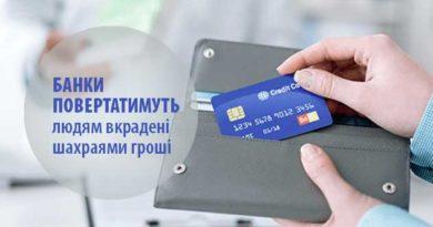 Банки повертатимуть людям вкрадені шахраями гроші