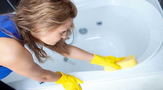 чищення ванни
