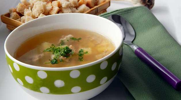 Гороховий суп із фаршем