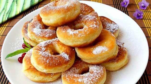 Кефірні пончики