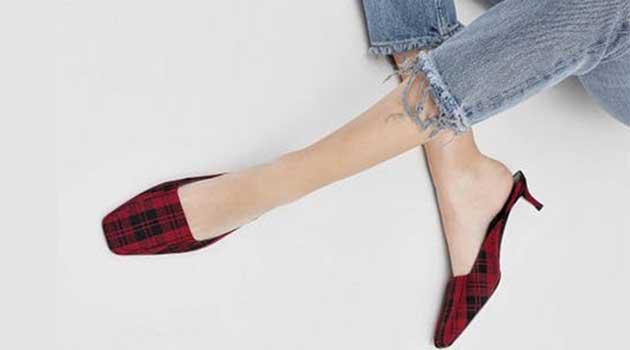 взуття з квадратним носком