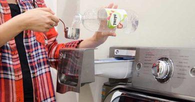 оцет при пранні
