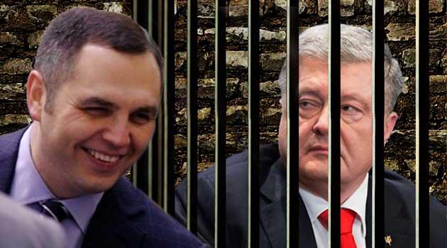 посадити Порошенка за ґрати