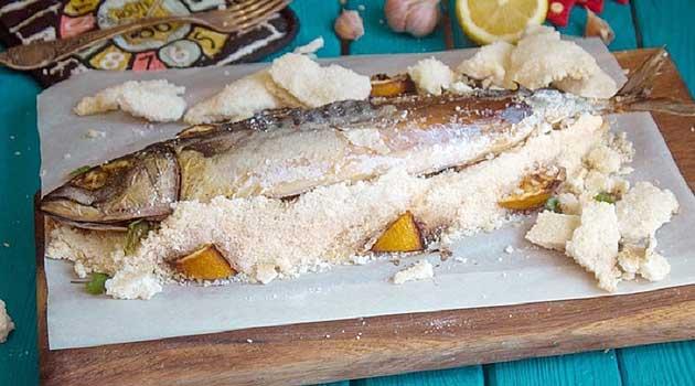 Скумбрія в солі