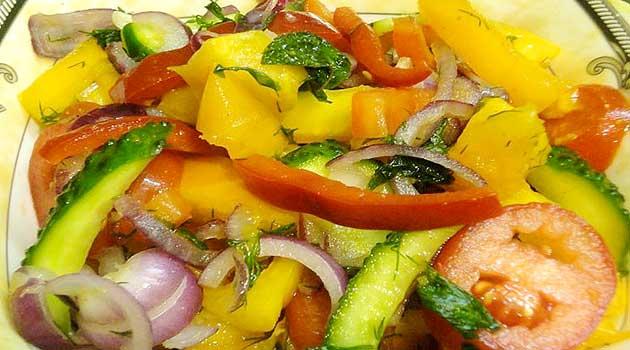 Малосольний салат