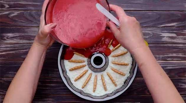 Пртготування желейного торту