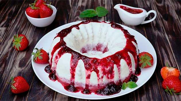 Желейний торт «Фантастика»