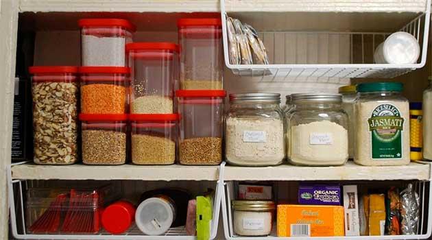 Правила зберігання продуктів харчування