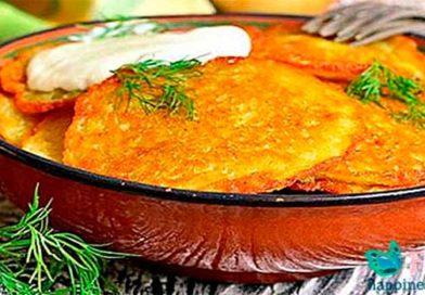 Смачні деруни з картоплі