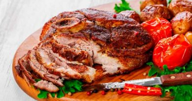 М'ясо запечене в духовці