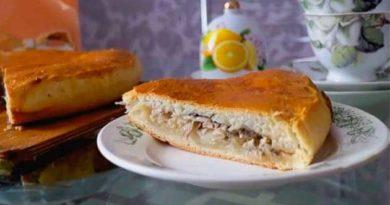 Пиріг з капустою і рибою