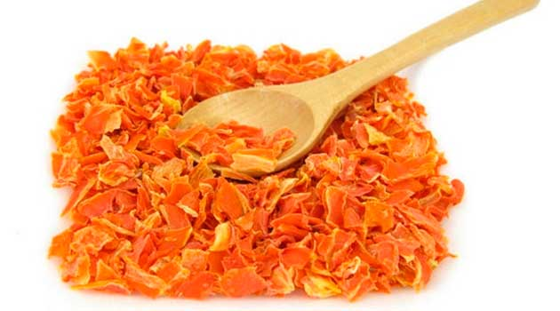 Сушена морква