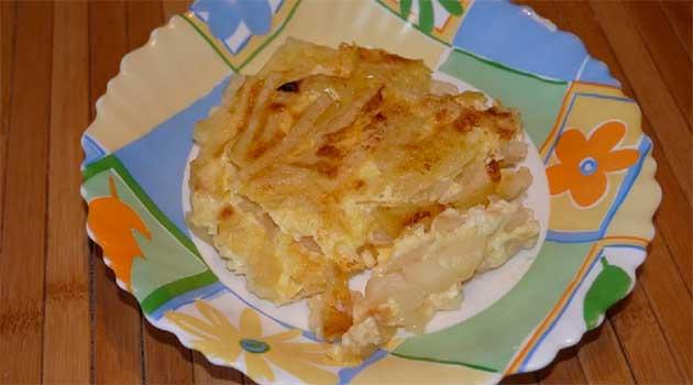 Молочна картопля