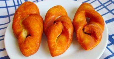 Пишні пончики