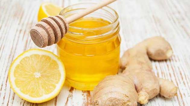 Імбир з лимоном і медом
