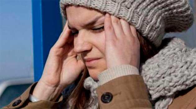 На морозі – болить голова