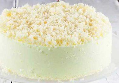 Торт «Сніговий пух»