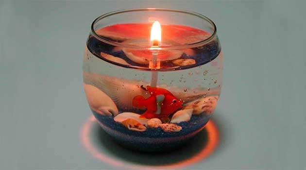 Гелеві свічки