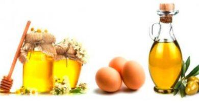 Яєчна маска для рук