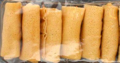 Заморожені млинці з начинкою