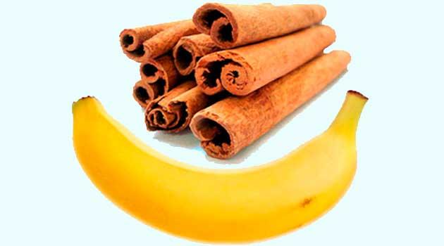 Чудо-коктейль - банани з корицею