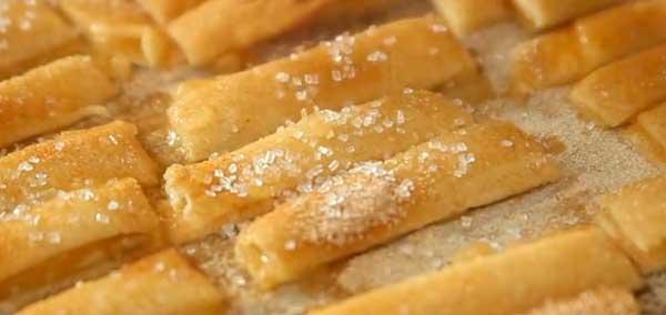 Хрусткі палички з начинкою - рецепт